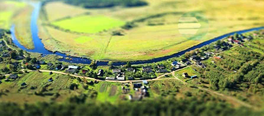 Оценка больших земельных участков